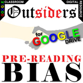 THE OUTSIDERS PreReading Bias Activity (Created for Digital)