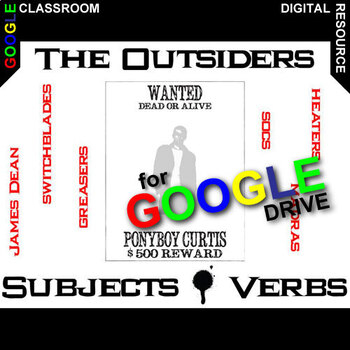 THE OUTSIDERS Subjects and Verbs - Grammar Agreement (Created for Digital)