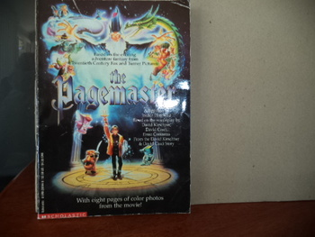 The Pagemaster ISBN 0-590-20244-8