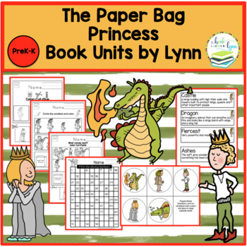THE PAPER BAG PRINCESS BOOK UNIT