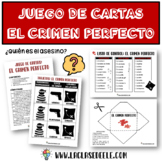 THE PERFECT CRIME SPANISH CARD GAME