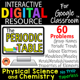 THE PERIODIC TABLE ~Digital Resource for Google Classroom~Chemistry/Physical Sci