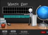 THE PERIODIC TABLE GAME - A Watzit Say? Game