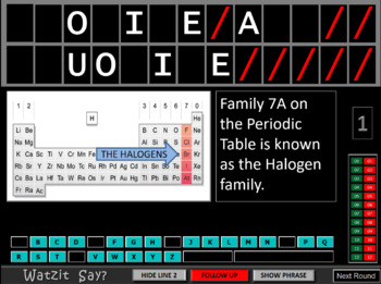 THE PERIODIC TABLE GAME - Evaluation Version