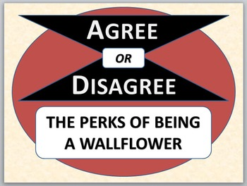 THE PERKS OF BEING A WALLFLOWER - Agree or Disagree Pre-reading activity