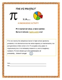 THE PI PROJECT: THINK OUTSIDE THE CIRCLE! Application,research & history of Pi