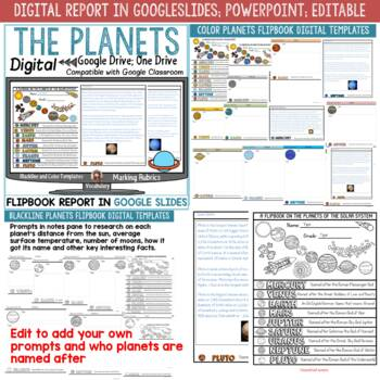 THE PLANETS OF THE SOLAR SYSTEM FLIPBOOK
