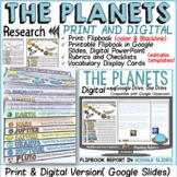 THE PLANETS OF THE SOLAR SYSTEM FLIPBOOK: PRINT & DIGITAL DISTANCE LEARNING