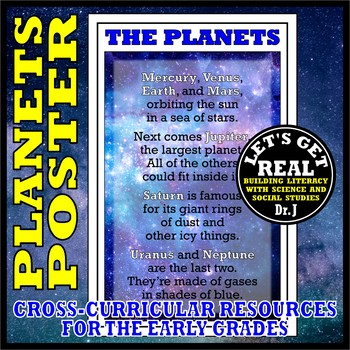 THE PLANETS POSTER POEM
