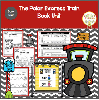 THE POLAR EXPRESS TRAIN  BOOK UNIT