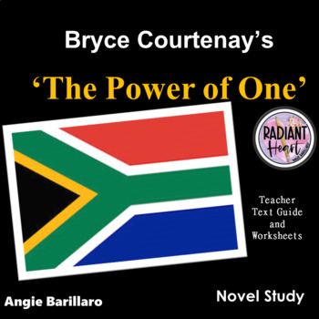THE POWER OF ONE Teacher Text Guide and Worksheets