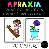 THE PRESCHOOL SLP: Apraxia of Speech Therapy Card Set