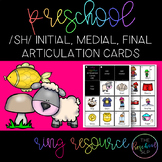 THE PRESCHOOL SLP: Articulation Cards Resource Ring /sh/ i