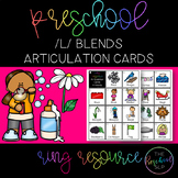 THE PRESCHOOL SLP: Articulation Cards Ring Resource /l/ bl