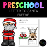 THE PRESCHOOL SLP: Letter to Santa FREEBIE