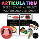 THE PRESCHOOL SLP: Speech Sound Alphabet Posters, Prompts & Cues