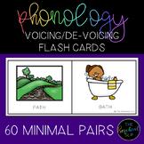 THE PRESCHOOL SLP: Speech Therapy Pre-Vocalic Voicing De-Voicing Minimal Pairs