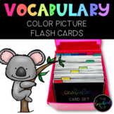 HUGE Color Vocabulary Picture Card Set- Standard 4x6 size 500 PICTURES TOTAL