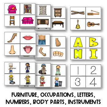 THE PRESCHOOL SLP: Vocabulary and Category Sorting Activity