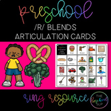 THE PRESCHOOL SLP: Articulation Cards Ring Resource /r/ bl