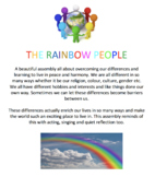 THE RAINBOW PEOPLE - A CLASS ASSEMBLY FOR JUNIORS ABOUT CE