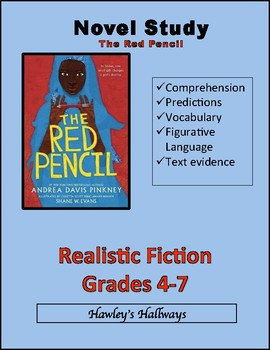 THE RED PENCIL by Andrea Davis Pinkney- Novel Study