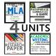 THE RESEARCH PAPER UNIT BUNDLE, INCLUDES MLA FORMAT