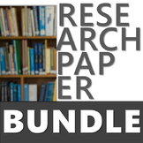 THE RESEARCH PAPER UNIT BUNDLE, INCLUDES MLA FORMAT