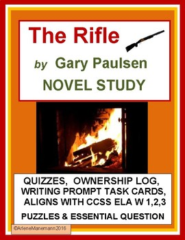 THE RIFLE by Gary Paulsen - Novel Study Quizzes & more