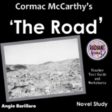 THE ROAD - Cormac McCarthy novel Teacher Text Guide & Worksheets
