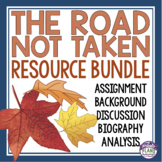 THE ROAD NOT TAKEN BY ROBERT FROST PRESENTATION & ACTIVITIES