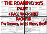 THE ROARING 20's PART 1. FOUR PAGE PACK for The Gateway to