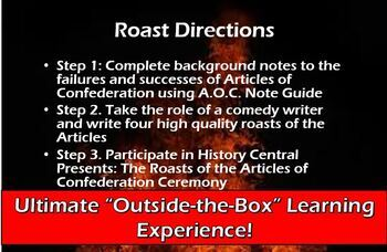 THE ROAST OF THE ARTICLES OF CONFEDERATION (Successes/Failures Comedy Lesson)