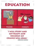 THE ROLE OF THE TEACHER AND STUDENT POSTER
