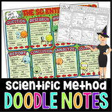 The Scientific Method Doodle Notes for Science with PowerP