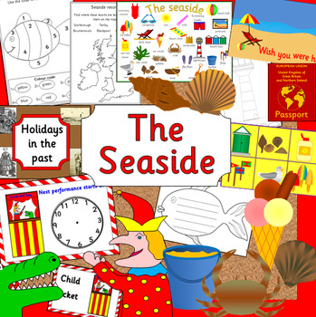 THE SEASIDE thematic unit- holidays/ vacation,  History