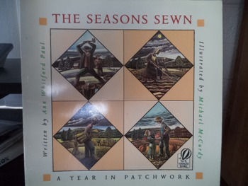 THE SEASONS SEWN    A YEAR IN PATCHWORK