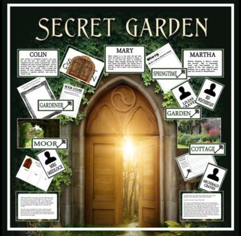 THE SECRET GARDEN STORY TEACHING RESOURCES ENGLISH LITERACY
