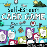 THE SELF-ESTEEM CARD GAME! Fun Solution Focused School Counseling Group Game