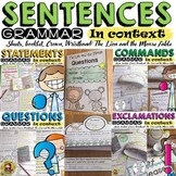 THE SENTENCE BUNDLE: STATEMENT:EXCLAMATION:QUESTION:COMMAND