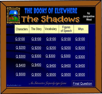 THE SHADOWS, The First Book of Elsewhere!  HAIR-RAISING ADVENTURES!