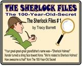 THE SHERLOCK FILES # 1!  The 100-Year Old Secret!  by Tracy Barrett