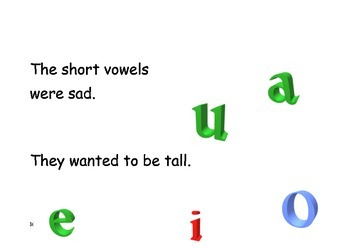 THE SHORT VOWELS STAY SHORT