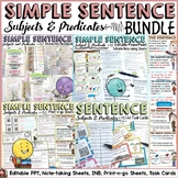 THE SIMPLE SENTENCE BUNDLE: SUBJECTS AND PREDICATES