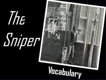 THE SNIPER (Liam O'Flaherty) VOCABULARY