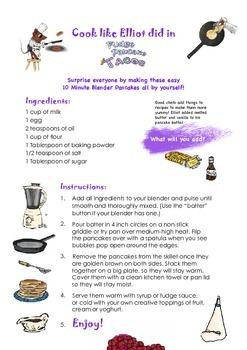 THE SNIPS: Fudge Pancake Tacos - Kids Cooking Activity