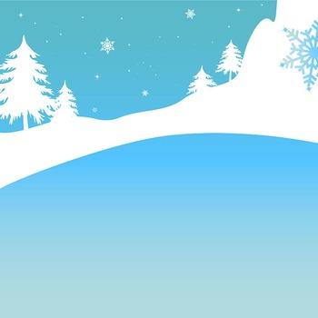Snow Princess Digital Clipart, Snow Princess Clipart, Princess Clipart