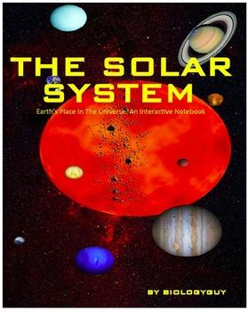 SOLAR SYSTEM, An Interactive Notebook