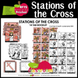 THE STATIONS OF THE CROSS  - 15 TAB BOOKLET - LENTEN EASTER