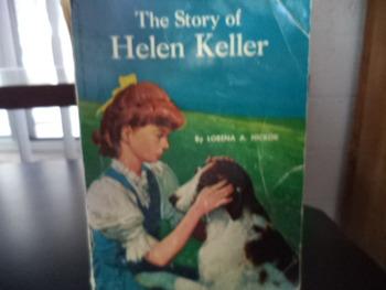 THE STORY OF HELEN KELLER  * ISBN0-590-33968-0